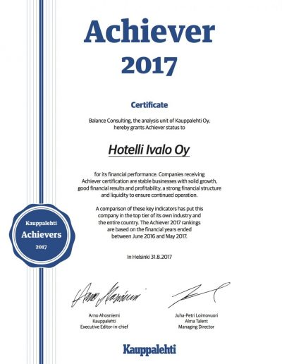 Hotelli Ivalo - Achiever 2017[4]